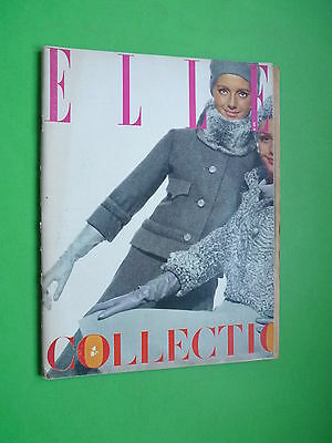 ELLE French fashion magazine September 1964 Collections Paris Couture no vogue