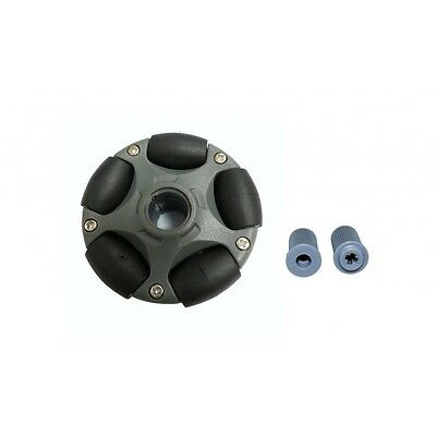 58mm Plastic Omni Wheel for LEGO NXT and Servo