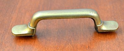 "Mid-Century SOLID Keller Brass KBC N-15016 SOLID  Furniture Pull Holes 3"" Apart"
