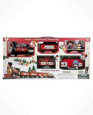 Disney Parks  Christmas Train Set with Disney Characters Included 2016 design