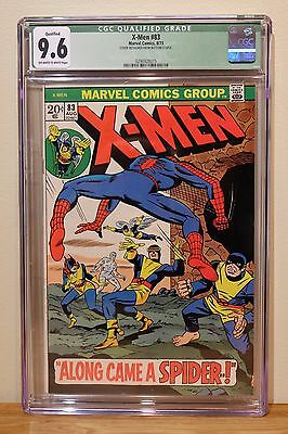 X-Men #83  Cgc 9.6 Qualified - Ow/w Pages *tough Issue To Find In High Grade*