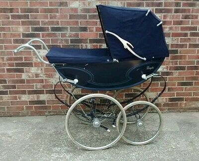 Vintage English Baby Pram by Royale Buggy Stroller
