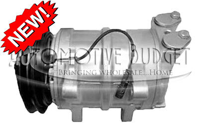 A/C Compressor w/Clutch for Isuzu NPR NQR 2001-2005 - NEW