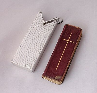Victorian Miniature The Book of Common Prayer with Solid Silver Slipcase. 1892