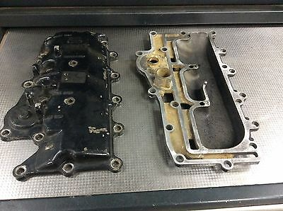 Mercury 3 Cyl 50 60 70 Hp Cover Exhaust Manifold Plate Baffle