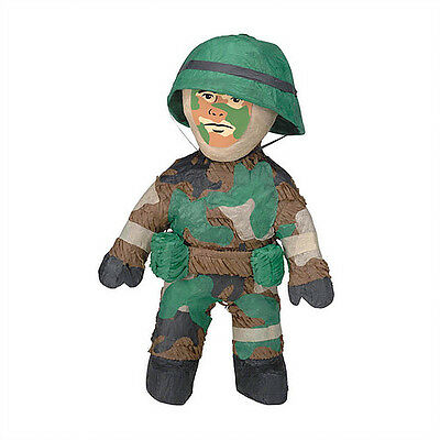 Army man soldier pinata perfect for the solider in your life!