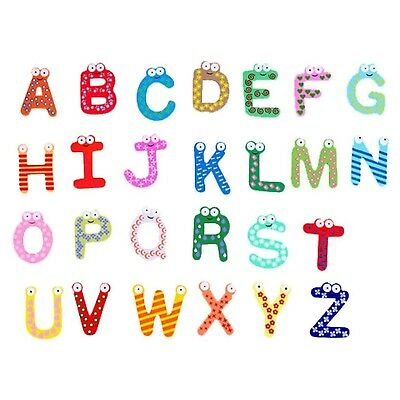 DEHANG Fun Colorful Alphabet Letter Fridge Magnet Decorative Educational Toy