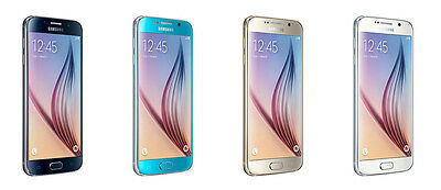 Samsung Galaxy S6 SM-G920P - 32GB - Sapphire Gold White Boost Mobile SPRINT NEW
