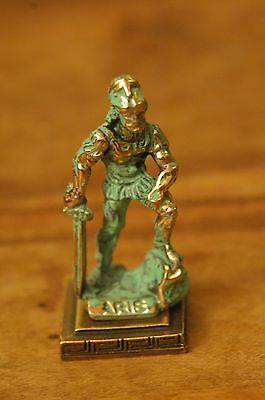 Aris / Aries - Ancient Greek Olympian God of War Miniature Statue, made of Zamac