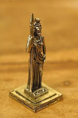 Athena - Ancient Greek Olympian Goddess of Wisdom Miniature Statue made of Zamac