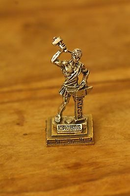 Hephaestus - Ancient Greek Olympian God of Fire Miniature Statue made of Zamac
