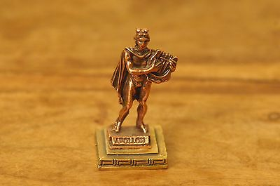 Apollo - Ancient Greek Olympian God Miniature Statue made of Zamac