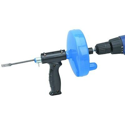 Brand New 25 Ft. Drain Cleaner With Drill Attachment