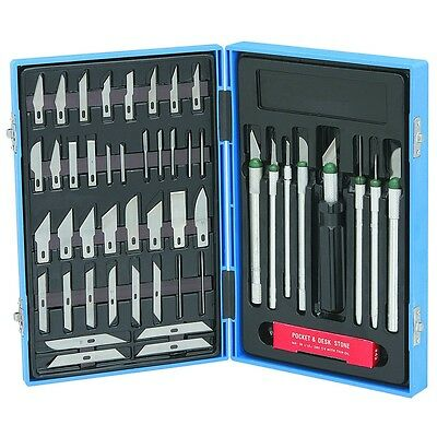 56 Pc. Precision Knife Set for DetaIed Cuts! Compare to Xacto or Name Brands