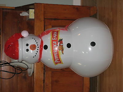 Campbell Soup Pepperidge Farm Snowman Inflatable Blow-up Advertising Display