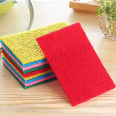 10pcs Magic Kitchen Dish Sponge Cleaning Towel Cloth Eraser Foam Pad Cleaner