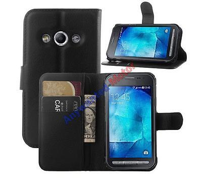 Flip PU Wallet Leather Case Cover For Samsung Galaxy Xcover 3 G388F Smartphone