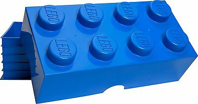LEGO 12L Storage Brick 8 - Blue. From the Official Argos Shop on ebay