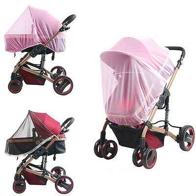 Soft Kids Stroller Nets Wind Shelter Elastic Income Side Seamless Mosquito Nets