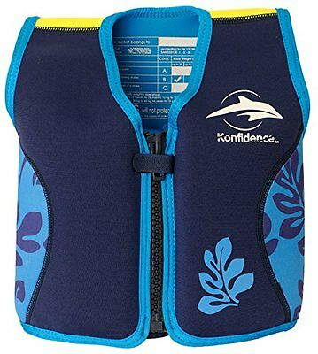 KONFIDENCE Float Jacket Age 4-5yrs (Blue) • EUR 42,59