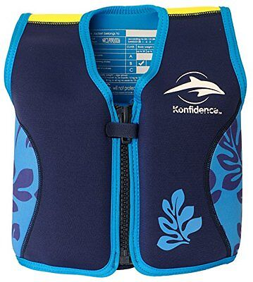 KONFIDENCE Float Jacket Age 4-5yrs (Blue)