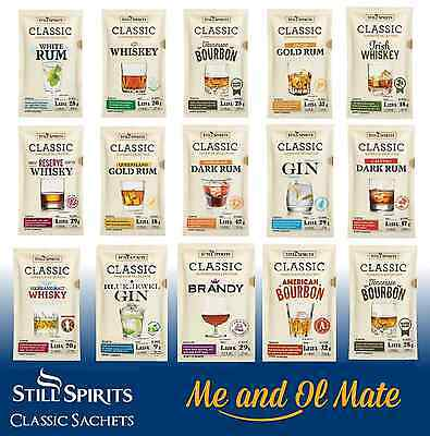 Still Spirits Classic Spirit Essences BOX OF 10 HOME BREW SPIRIT MAKING
