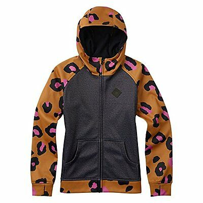 Burton giacca per bambina con cappuccio Scoop, True Black Heather, L, 1375610301