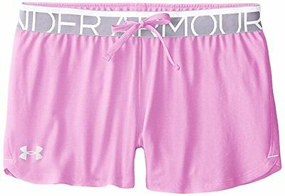 Play Up Under Armour-Pantaloncini sportivi da ragazza Verve, colore: viola, tagl