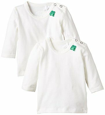 Fred's World - Alfa l/sl T 2-PACK NOOS baby, T-Shirt unisex bimbi, Cream, 80 (Ta