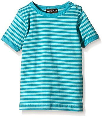 Maxomorra - BASI-M145 Top SS Striped, T-Shirt unisex bimbi, Multicoloured/Lightb