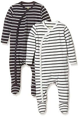 MINI MIZE by MAMLICIOUS - MMSTAR FOOTED NIGHTSUIT L/S-U-2 PACK 15, Pigiama unise • EUR 47,60