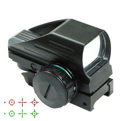 Tactical Red Green Dot Holographic Sight 4 Reticle Reflex for Outdoor ER
