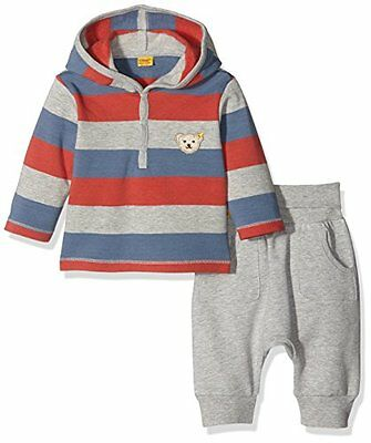 Steiff Collection 2tlg. Sweatshirt 1/1 Arm + Jogg, Set Bambino, Multicolore (Y/D