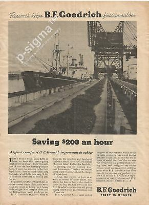 B.F.GOODRICH first in rubber 1955 Vintage Print Ad.# 95 5