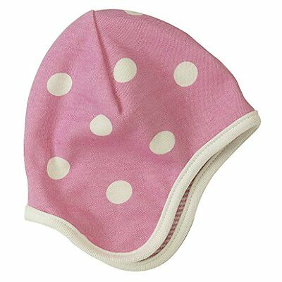 Pigeon organics For Kids-Berretto Spotty 12 m, colore: rosa
