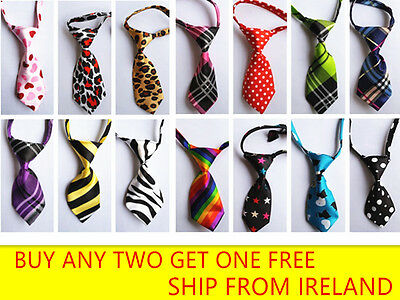 Dog Bow Tie Collar Cat Puppy Kitty Adjustable Necktie Pet Accessories kitten ie