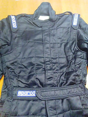 TUTA SPARCO TECH 52 black OMOLOGATA FIA TG 52 RACING RALLY SUIT OVERALL fia
