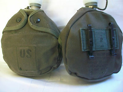 Arctic Canteen w/ Canvas Cover - Military Issue - Extreme Cold Weather -50F