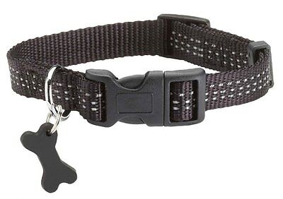 BOBBY SMALL DESIGNER  DOG COLLAR REFLECTIVE design Dog SMALL MEDIUM