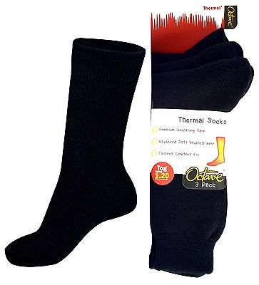 OCTAVE® Girls Thermal Socks - 1.2 TOG - 3 Pairs or 6 Pairs