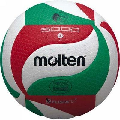 Molten Ball Volleyball Flistatec - White / Red/green - Code V5M5000
