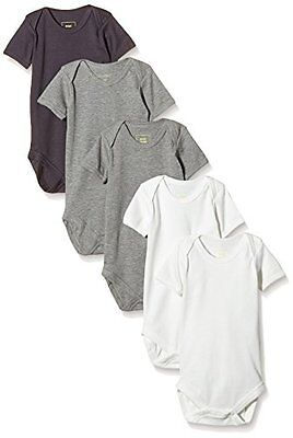 MINI MIZE by MAMLICIOUS - MMSUN BODY S/S BASIC - U - 5-PACK 15, Body unisex bimb