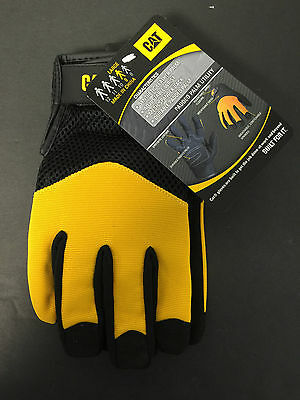 1 Pair- Caterpillar Gloves- Size Large  #CAT012215L- Cat Gloves- Padded-New