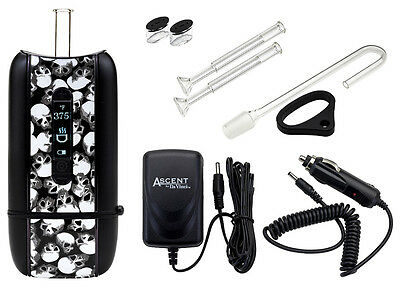 Da Vinci Ascent Skull Portable Handheld Vaporizer Vaporiser Full Kit