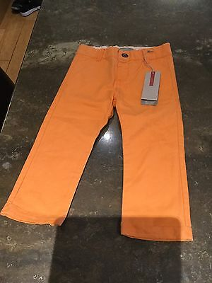 Toddlers Unisex Name-It Orange Trousers For Age 1.5-2/new With Tag