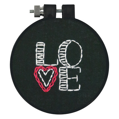 Dimensions Love Embroidery Kit