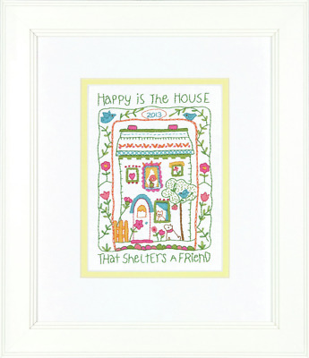 Dimensions House Sampler Embroidery Kit
