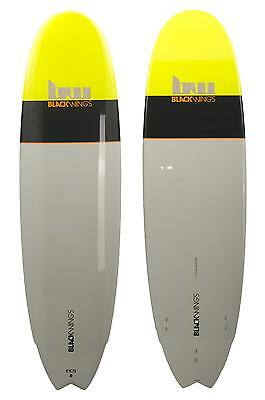 Blackwings Planche de surf evolutive Perf 6pack Wood Epoxy