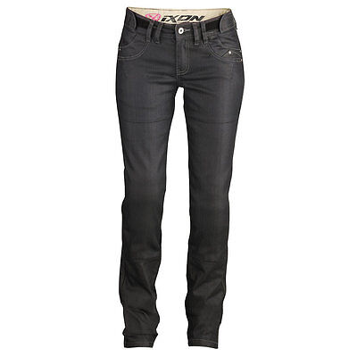 NEW Ixon Ashley Jeans Black WOMENS MEDIUM