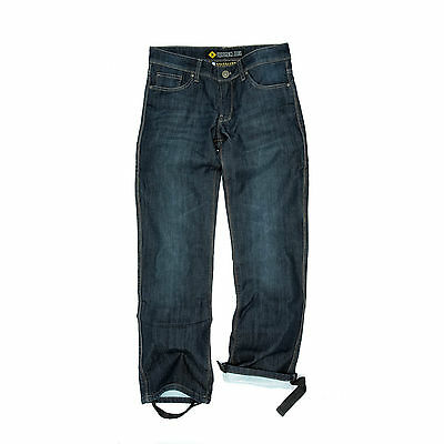NEW Resurgence Gear PEKEV Jeans Blue/Black WOMENS SIZE 6